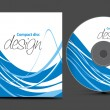 Stock Vector: Cd cover design