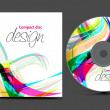 Cd cover design — Stock Vector