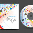 Royalty-Free Stock Vector Image: Cd cover design