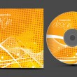 Cd cover design - Image vectorielle