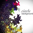 Circle pattern background — Stock Vector #4481069
