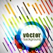 Color circle background — Stock Vector