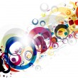 Stockvector : Abstract colorful background