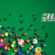 Particles background — Wektor stockowy #4482665
