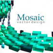 3d mosaic background — Stock Vector #4482739