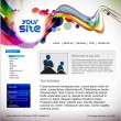 Vector de stock : Web site design