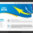 Website-design — Stockvektor  #4482938
