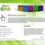 Web site design — Stock Vector