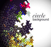Circle pattern background — Stock Vector