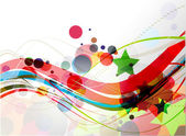 Abstract colourful backgroung — Stock Vector
