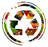 Recycling-symbol — Stockvektor