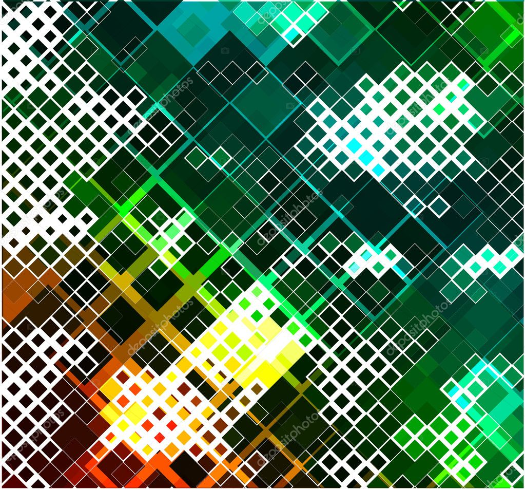 Abstract mosaic background, eps10 vector illustration.  — Stock Vector #4480879