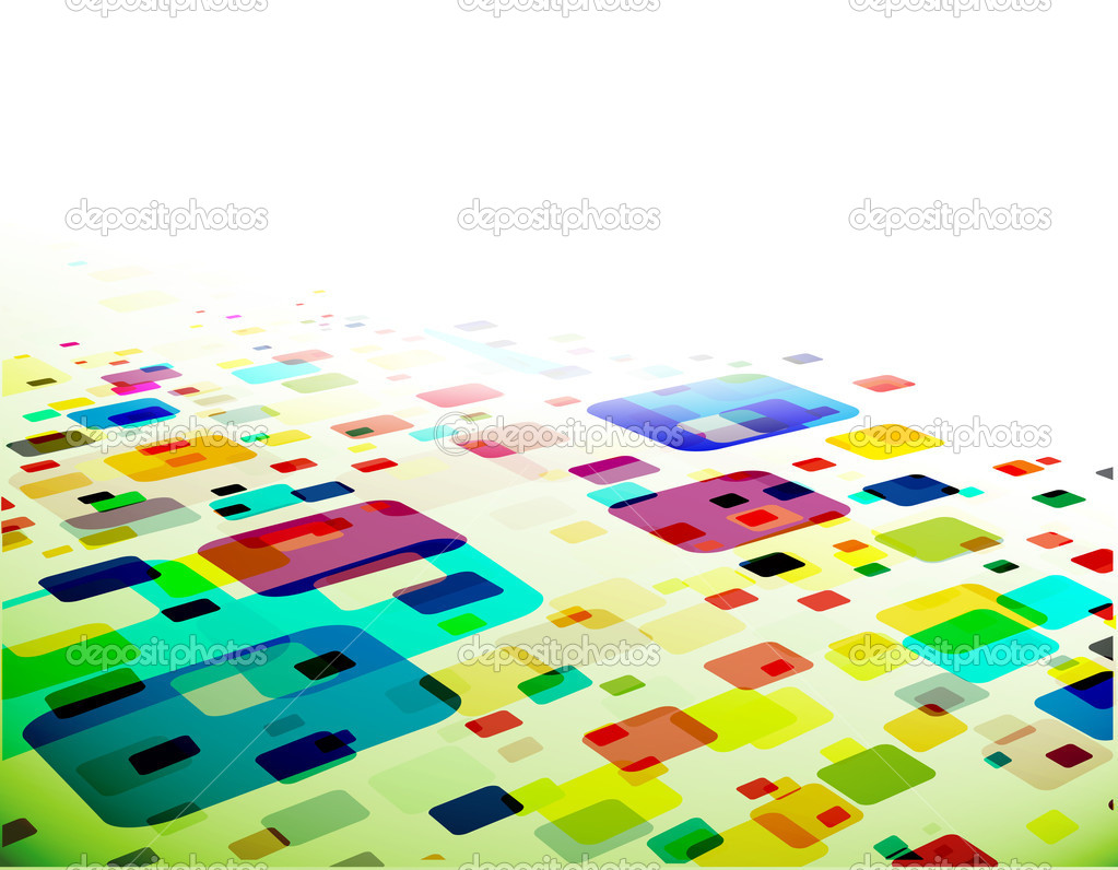 Abstract mosaic background, eps10 vector illustration.  — Stock Vector #4481669