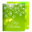 Christmas template designs — Stock Vector #4569336
