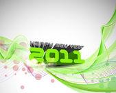 Sfondo anno ney — Vettoriale Stock