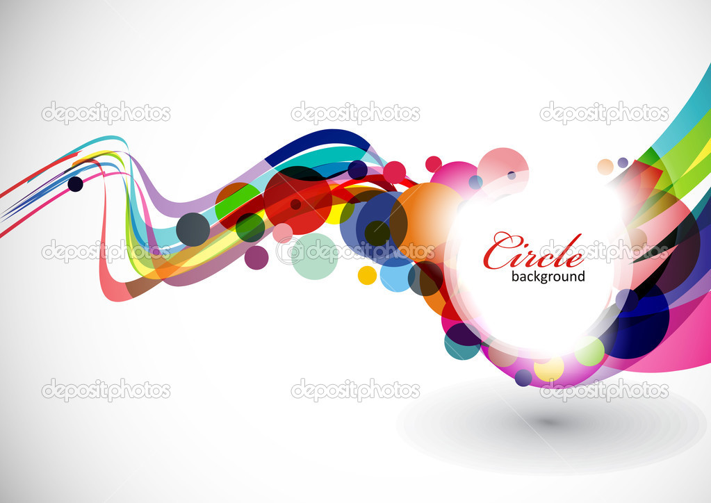 Abstract colorful background . eps10 Vector illustration. — Stock Vector #4606168