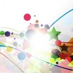 Rainbow wave line — Stock Vector #4611505