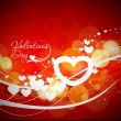 Valentines day background — Stock Vector #4693201