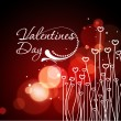 Valentines day background — Stock Vector #4693347