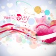 Valentines day background — Stock Vector #4694050