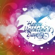Valentines day background — Vettoriali Stock