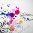 Valentines day background — Stock Vector #4694891