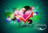 Valentines day background — Vecteur