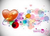 Fond de saint valentin — Vecteur