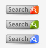 Search bars — Stock Vector