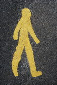 Pedestrian — Stock Photo