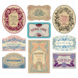 Vintage labels set (vector) — Vector de stock #3526057