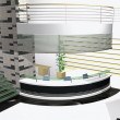 Stock Photo: 3D office interior