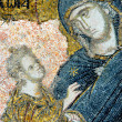 Mosaic of Virgin Mary and Jesus Christ — Stock Photo #2737541