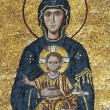 Mosaic of Virgin Mary and Chesus Christ — 图库照片