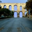 The Aqueduct of Valens, Istanbul - Stock Photo