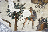 Hunter, mosaic from Istanbul — Photo