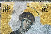 Jungfru maria, hagia sophia, istanbul — 图库照片