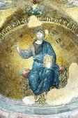 Mosaic of Jesus Christ, Fethiye camii — Stock Photo