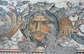 Head of ocean, mosaic, Istanbul — Stock Photo