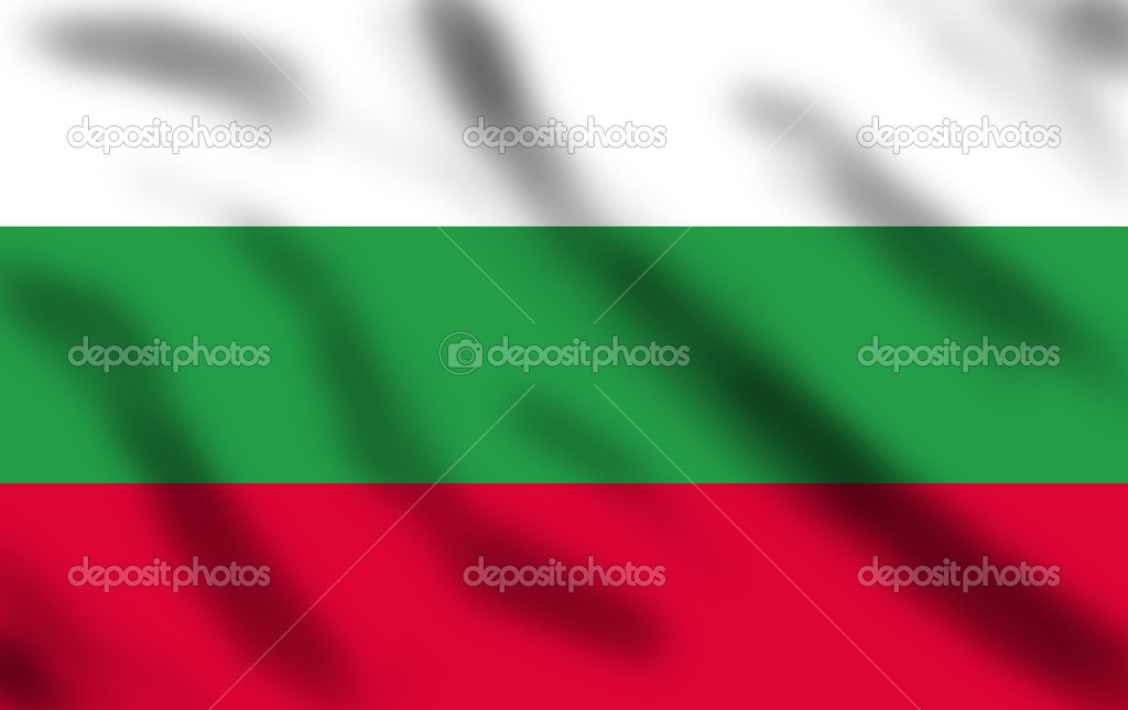 Flag of Bulgaria waving, 3d illustration — Stock Photo #3155848