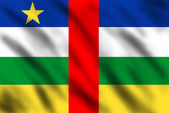 Flag of Central African Republic — Photo