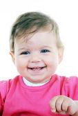 Portrait of lovely baby — Stock Photo