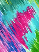 Painted colorful abstract — Stock Photo