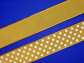 Faixa amarela — Fotografia Stock