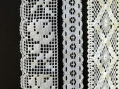 Lace ribbon — Stock Photo
