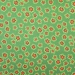 Green floral fabric — Stock Photo #2805849