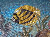 Mosaic fish — Stock Photo