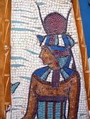 Egyptian mosaic — Stockfoto