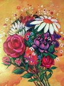 Bouquet fleurs — Photo