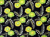 Floral stof — Stockfoto